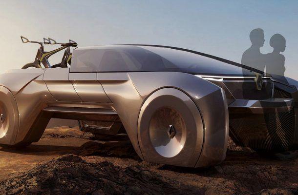 Renault показал, какбудет выглядеть пикап будущего (ФОТО)