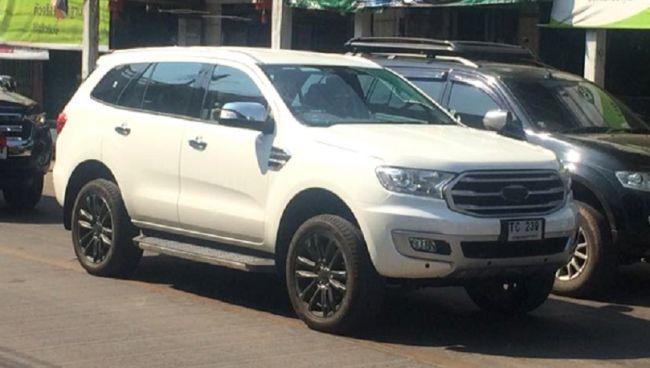 Рассекречен обновлённый Ford Everest (ФОТО)
