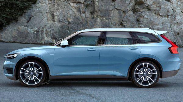 В Сети появились рендеры нового универсала Volvo V40 (ФОТО)