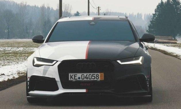 «Заряженный» универсал Audi пополнил автопарк известного лыжника (ФОТО)