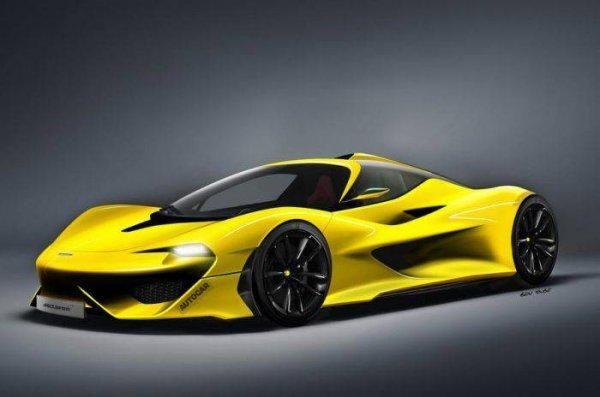 Гиперкар McLaren BP23 Hyper-GT представлен на новом тизере (ФОТО)
