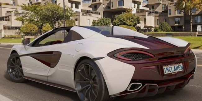 McLaren представил еще один эксклюзивный суперкар 570S (ФОТО)