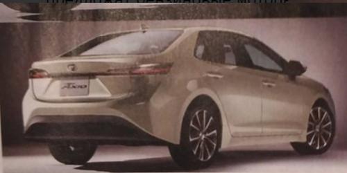 Опубликованы первые фотографии новых Toyota Corolla Axio и Fielder