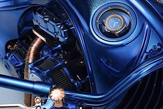 В Швейцарии построили самый дорогой мотоцикл в мире (ФОТО)