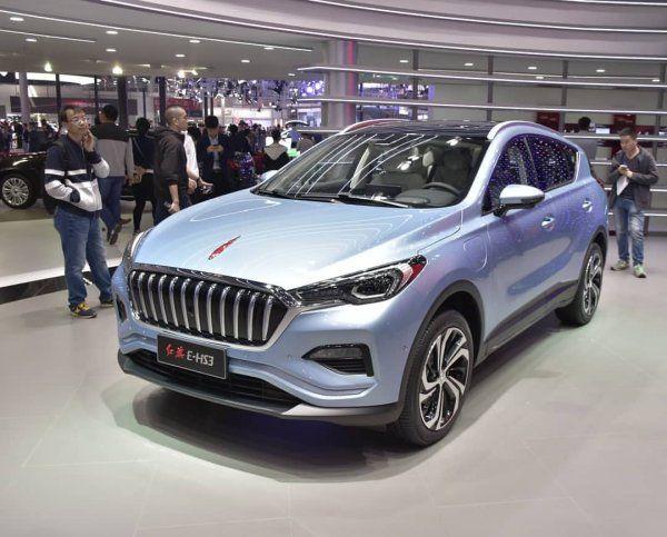 Кроссовер Hongqi E-HS3 станет первым электромобилем бренда (ФОТО)