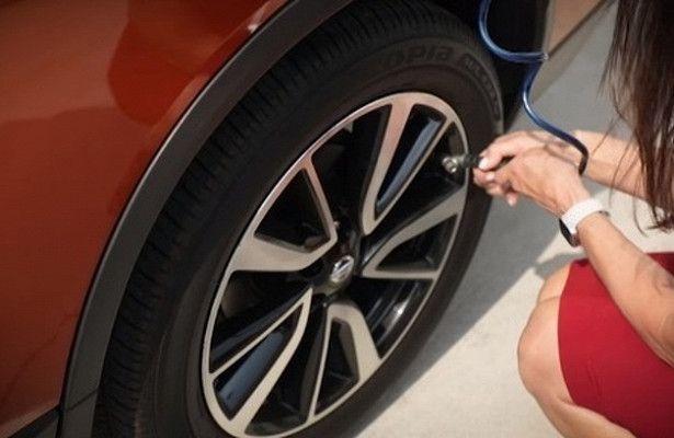 Как накачать колесо автомобиля — Автопортал