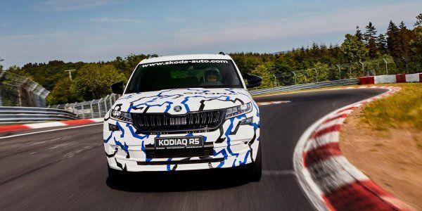 Skoda Kodiaq RS получит 240-сильный дизельный мотор (ВИДЕО)