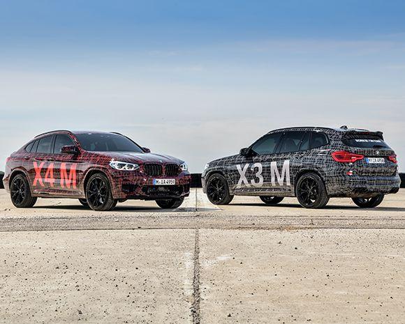 BMW X3 и X4 впервые получили M-версии (ФОТО)