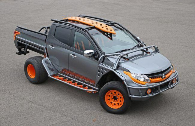Mitsubishi Motors сделал дикий L200 для «Форсажа» (ФОТО)