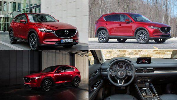 Обновленный Mazda CX-5 обзаведется турбодвигателем (ФОТО)