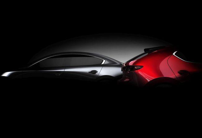 В сети опубликовали шпионские фото новой Mazda 3 (ФОТО)