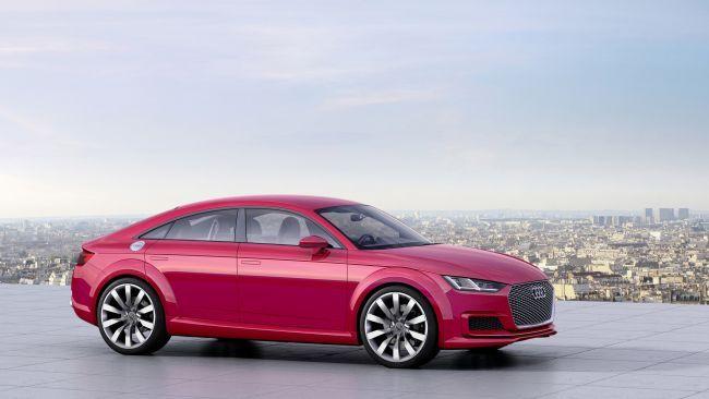 Следующее поколение Audi TT может стать четырехдверным купе (ФОТО)