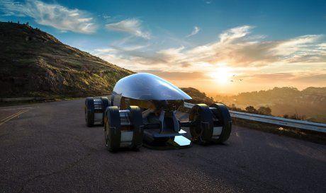 Hankook представила новые футуристичные шины Hexonic и Aeroflex (ФОТО)
