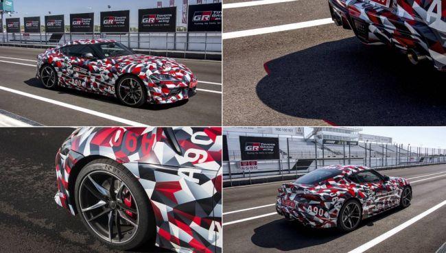 Стали известны новые подробности о Toyota GR Supra 2020 года (ФОТО)