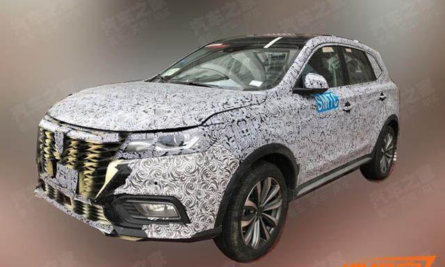 Аналоговая модель китайского Volkswagen Tiguan готовится к показу