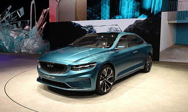Новинка: особый седан Geely на базе Volvo (ФОТО)