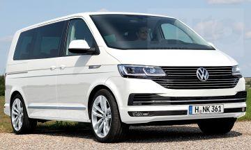 Шпионы показали на фото новый VW Transporter T7