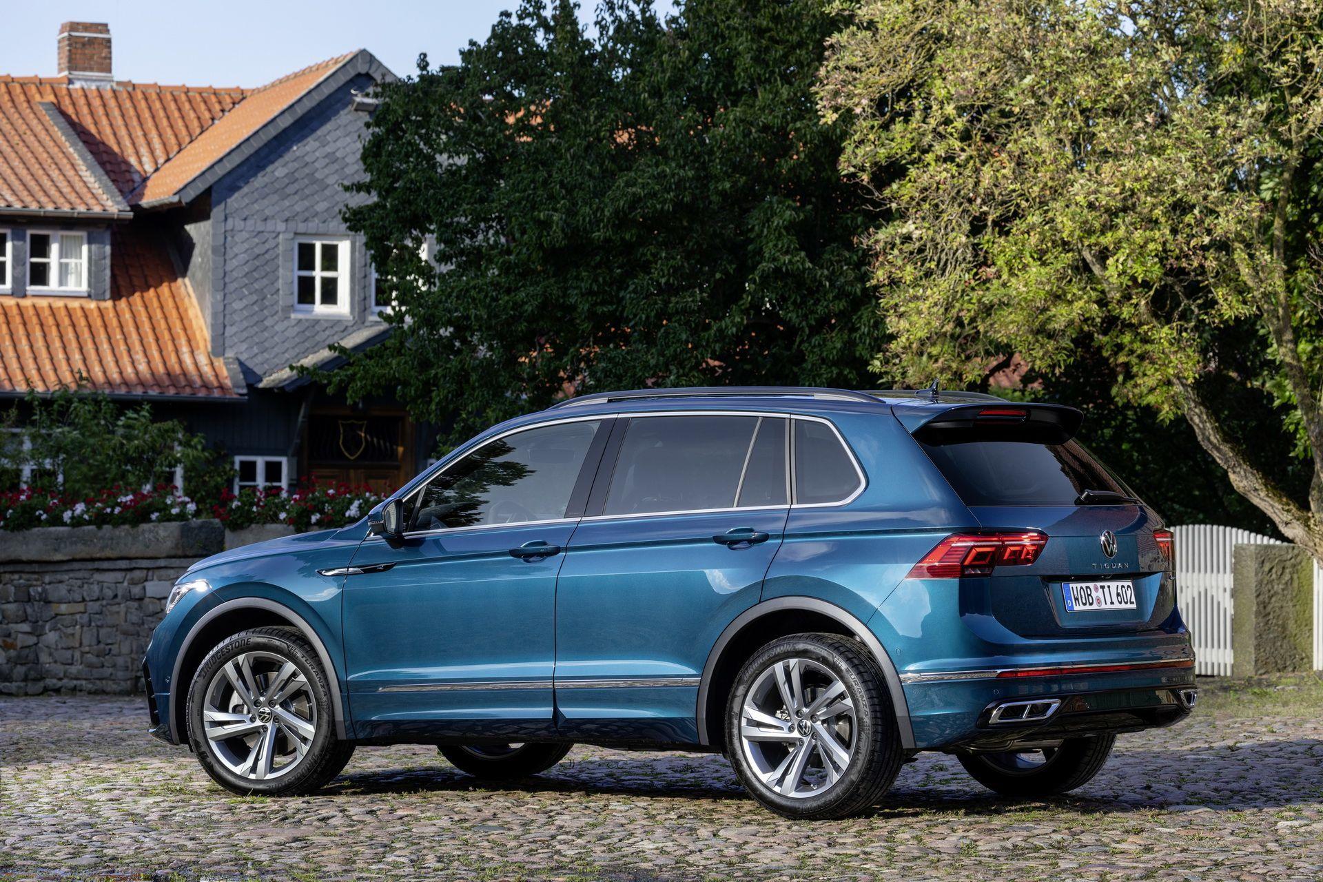 VW Tiguan 2021 года стал доступен для заказа в Европе ...