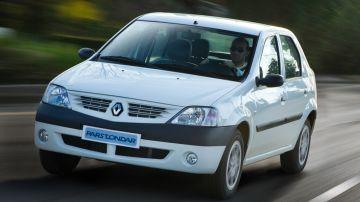 Опубликовали изображения нового седана на базе Renault Logan первого поколения