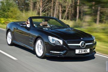 В сети появились шпионские снимки нового кабриолета Mercedes-Benz SL-Class
