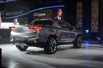 Первый пикап от Hyundai показали на шпионских фото