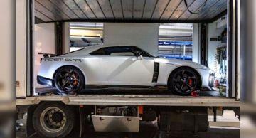 Nissan интригует моделью GT-R 50 от Italdesign
