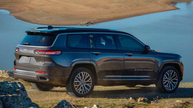 Представлен новый Jeep Grand Cherokee: три ряда, семь мест и мотор V8