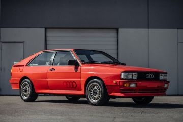 На аукцион выставили Audi Ur-Quattro 1983 года выпуска