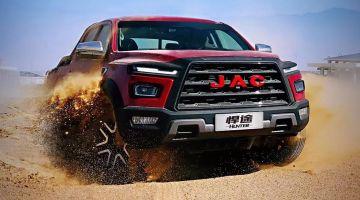 Компания JAC объявила о начале приема заявок на внедорожную версию пикапа Hunter