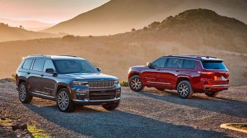 Jeep представил обновленный Grand Cherokee L
