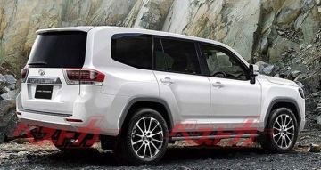 Компания Toyota разрабатывает обновленный внедорожник Toyota Land Cruiser 300