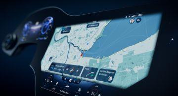 Mercedes представил полноразмерный Гиперкрин MBUX с искусственным интеллектом (ВИДЕО)