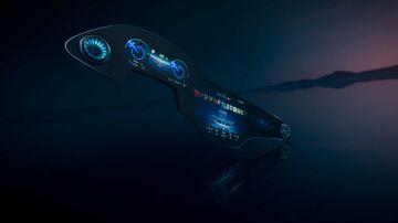 Mercedes-Benz показал «гиперэкран» для флагманского электрокара