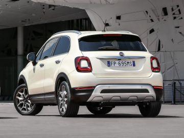 Компания Fiat представила мини-кроссовер 500X Cabrio