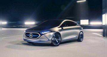 Немецкий автобренд Mercedes-Benz в 4-ом квартале прошлого года повысил реализации электрокаров
