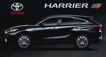 Очередь за новым кроссом Toyota Harrier достигла 9 месяцев