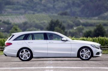 Новый Mercedes-Benz C-Class в кузове универсал замечен на тестах