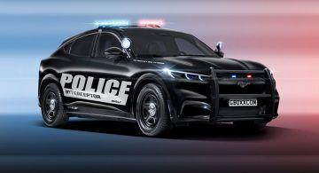 Полицейский департамент в Мичигане получит два электромобиля Ford Mustang Mach-E