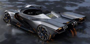 Представлен футуристичный Ferrari для новой видеоигры Cyberpunk 2077