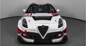 Гоночный Alfa Romeo Giulietta TCR выставили на продажу за 180 000 долларов