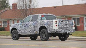 Новый Ford Ranger замечен на тестах