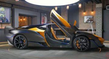 Эксклюзивный гиперкар McLaren Sabre показали на видео