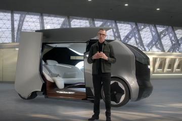 General Motors представила концепт первой летающей машины