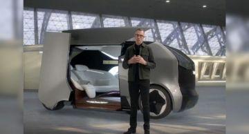 Компания General Motors представила концепт электрического шаттла