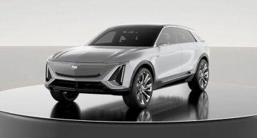 Cadillac Lyriq показали на выставке CES 2021