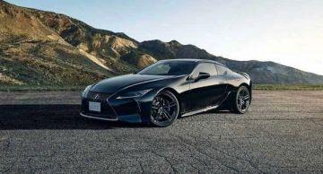Lexus выпустит спецверсию купе LC 500 Inspiration Series
