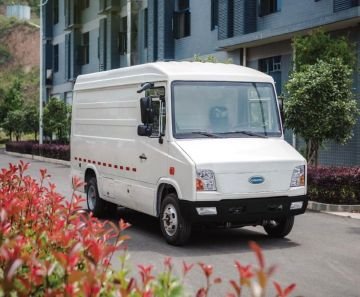 На CES-2021 презентовали электрический фургон для доставки Cenntro CityPorter