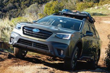Новый Subaru Outback Wilderness Edition впервые показали на снимках