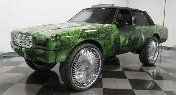 Продаётся уникальный Chevrolet Caprice 1989 года в стиле Халка
