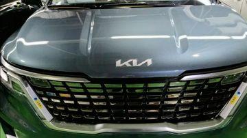Минивэн Carnival станет первой моделью Kia с новым логотипом